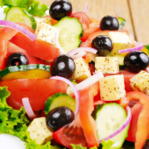 Answer GREEK SALAD