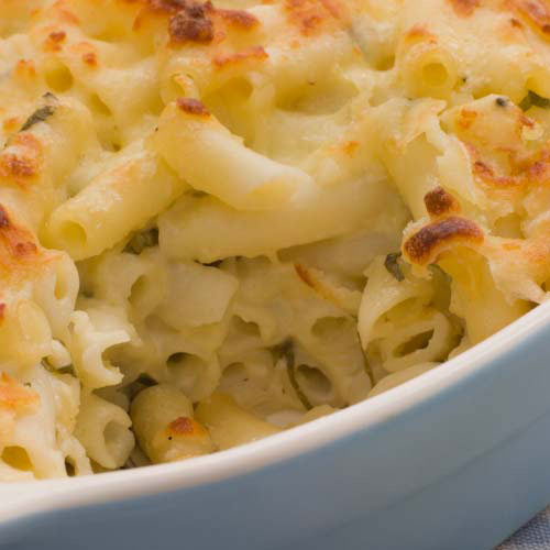 Answer MACARONI CHEESE
