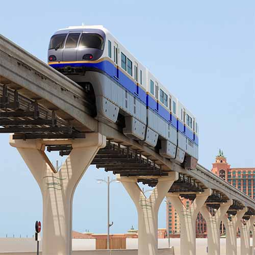 Answer MONORAIL