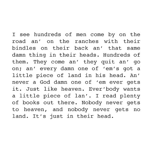 Answer OF MICE AND MEN