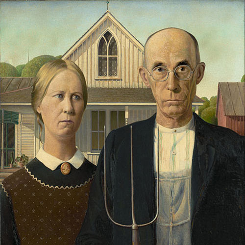 Answer AMERICAN GOTHIC