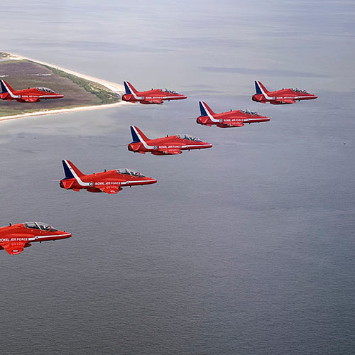 Answer RED ARROWS