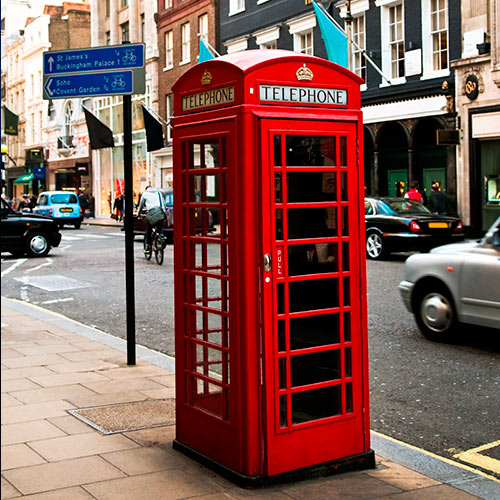 Answer RED PHONE BOX