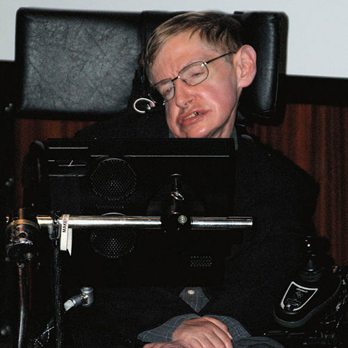 Answer STEPHEN HAWKING