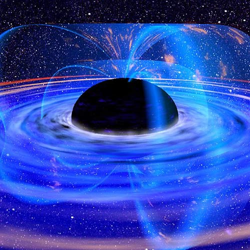 Answer BLACK HOLE