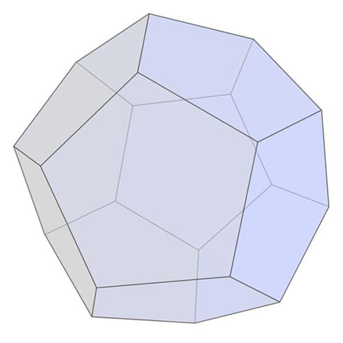 Answer DODECAHEDRON