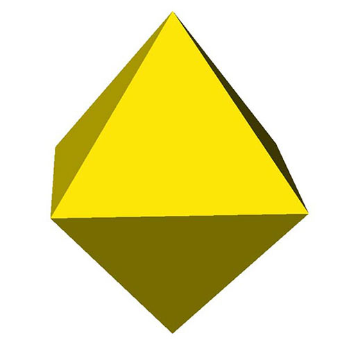 Answer OCTAHEDRON
