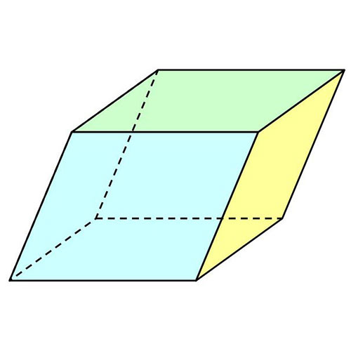 Answer PARALLELEPIPED