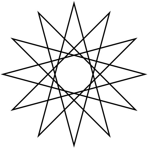 Answer DODECAGRAM