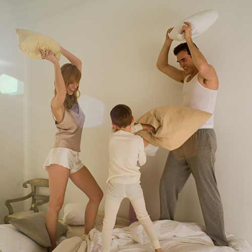 Answer PILLOW FIGHT