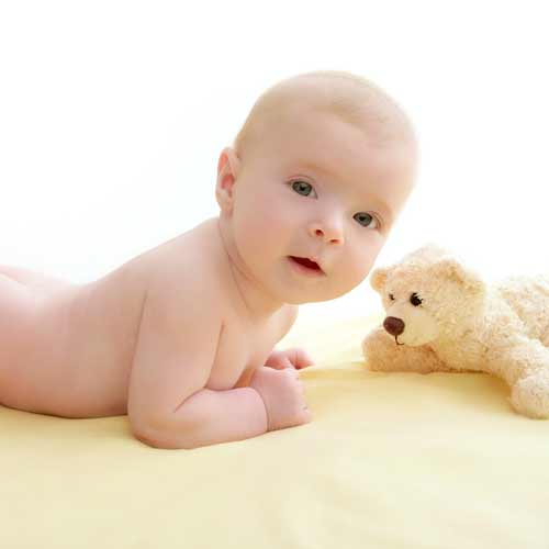 Answer TUMMY TIME