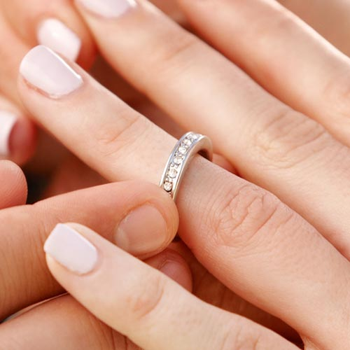 Answer ETERNITY RING