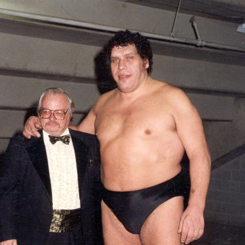 Antwort ANDRE THE GIANT