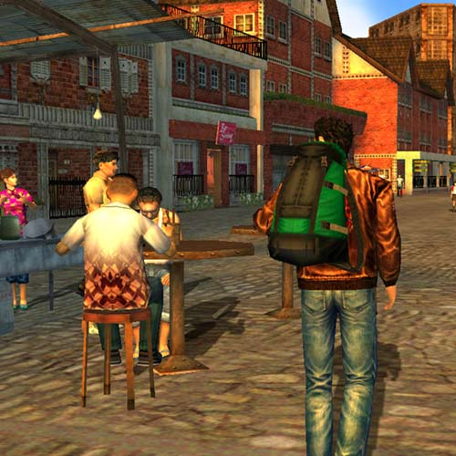 Answer SHENMUE 2
