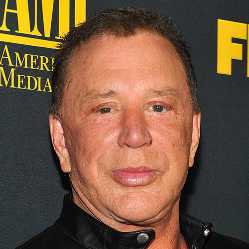 Answer MICKEY ROURKE