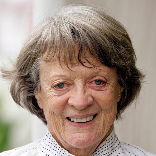 Answer MAGGIE SMITH