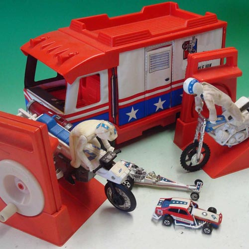 Answer EVEL KNIEVEL