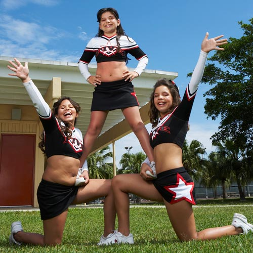 Answer CHEERLEADERS