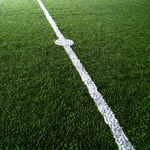 Answer FOOTBALL PITCH