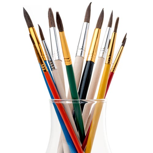 Answer PAINTBRUSHES