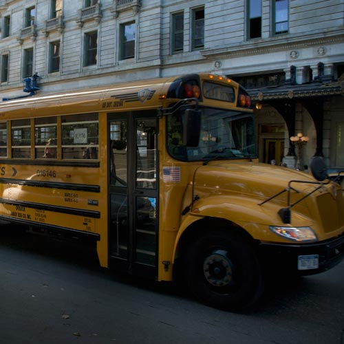 Answer SCHOOL BUS