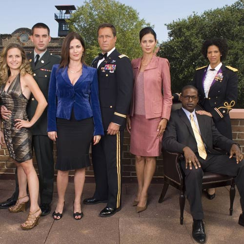 Answer ARMY WIVES