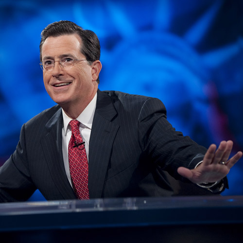 Answer COLBERT REPORT