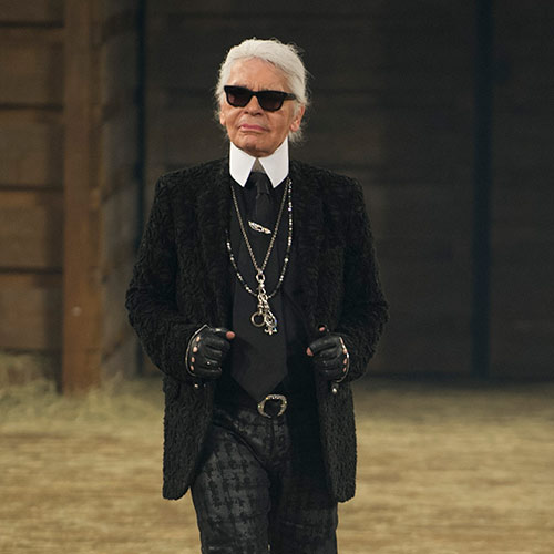 Answer KARL LAGERFELD
