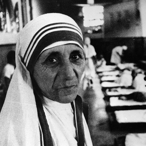Answer MOTHER TERESA