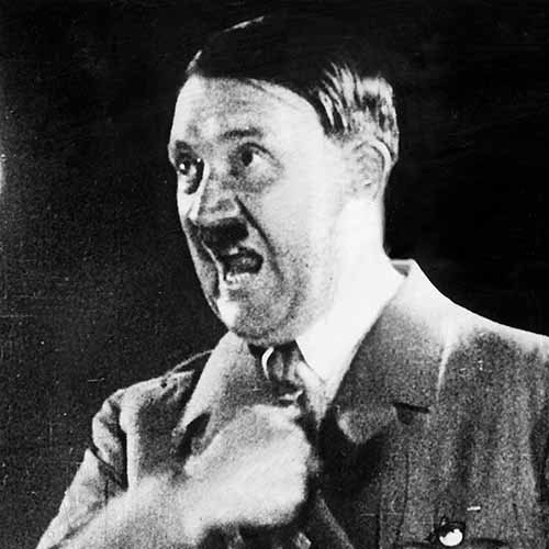 Answer ADOLF HITLER