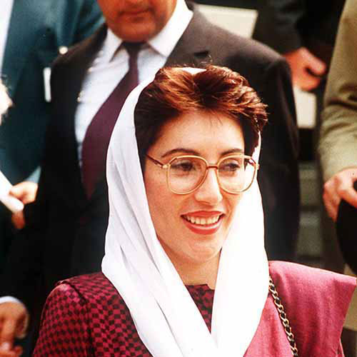 Answer BENAZIR BHUTTO