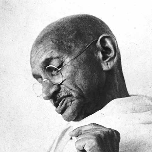 Answer GANDHI
