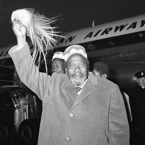 Answer JOMO KENYATTA