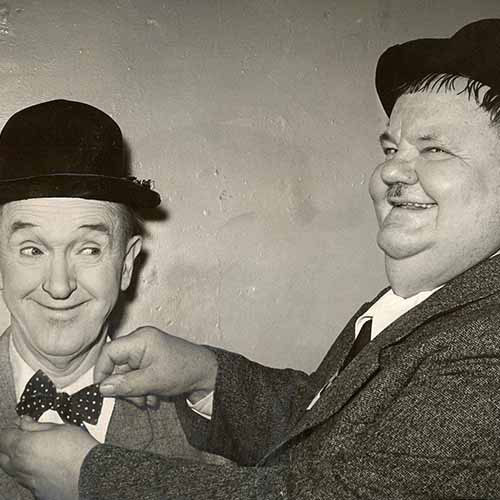 Answer LAUREL & HARDY