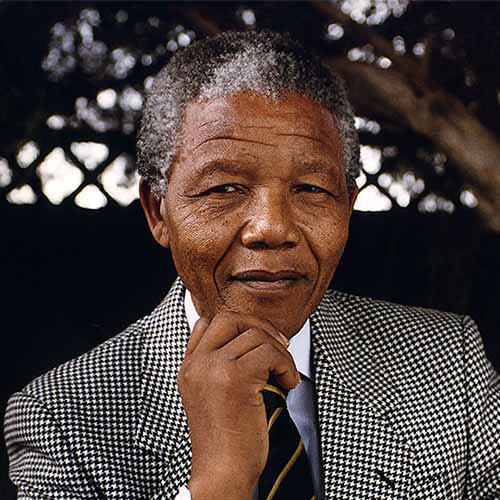 Answer NELSON MANDELA