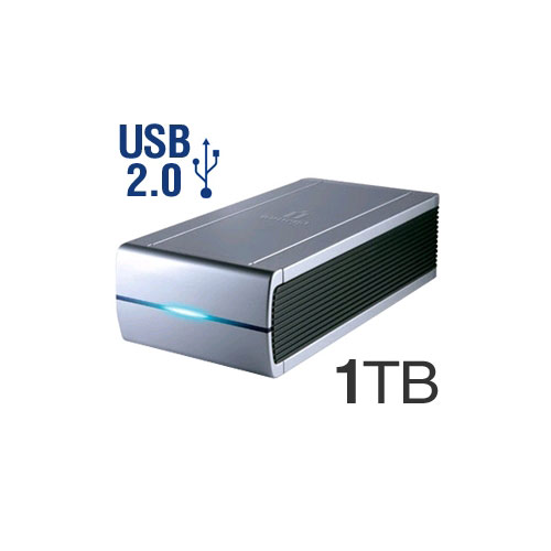 Answer ONE TERABYTE