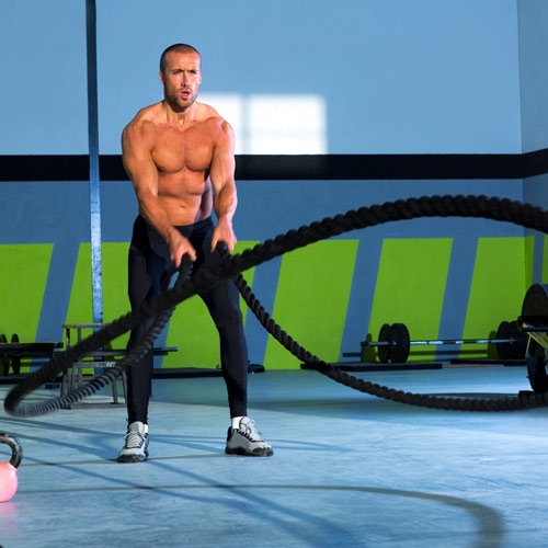 Answer BATTLE ROPES