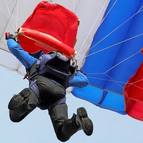 Answer SKYDIVING