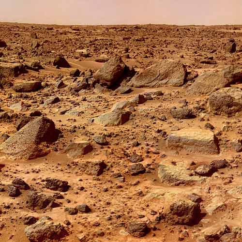 Answer MARS SURFACE