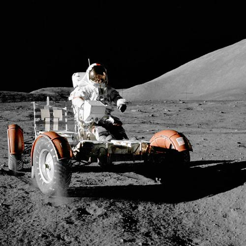 Answer MOON BUGGY