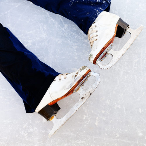 Answer ICE SKATING