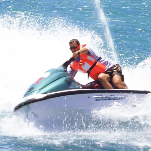 Answer JET SKIING
